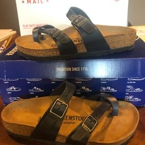 Birkenstock Mayari blue leather asst mediu…